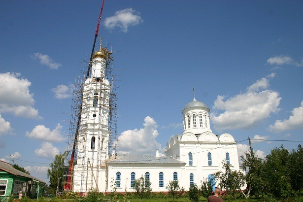Спасский храм села Ивашково