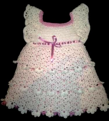 Платье крючком «Красавица»
