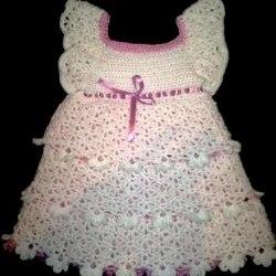 "Платье крючком ""Красавица"""