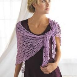Шаль Стрекоза / Dragonfly shawl