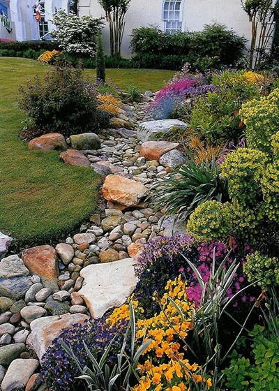 Что нам стоит из камней ручей построить