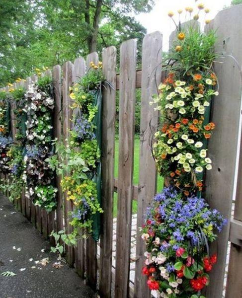 Как красиво посадить цветы на даче