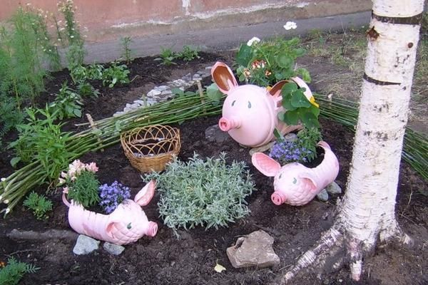 Яркие идеи для сада
