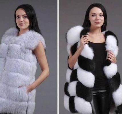 Модные меховые жилеты 2017-2018 года 5