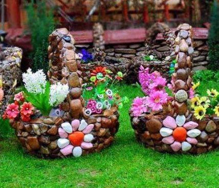 Сказочные идеи для оформления цветников,воплощенные в жизнь 3