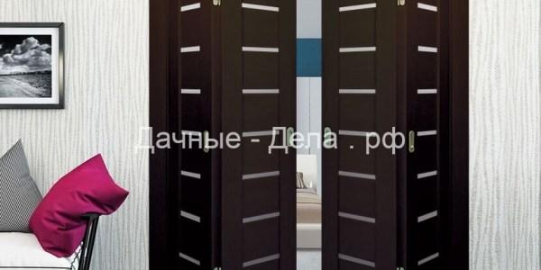 Межкомнатные двери-книжка 17