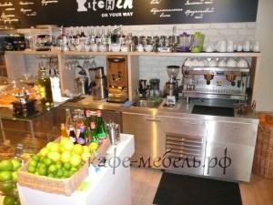 мебель рабочей зоны семейного кафе
