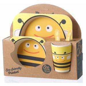 Детская посуда из бамбука Happy Kids