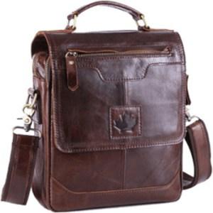 Мужские кожаные сумки CANADA
