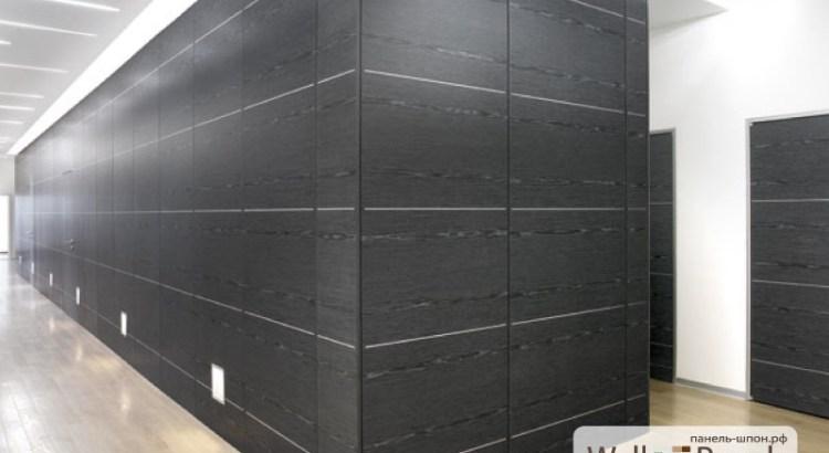 Коридор отделанный стеновыми панелями