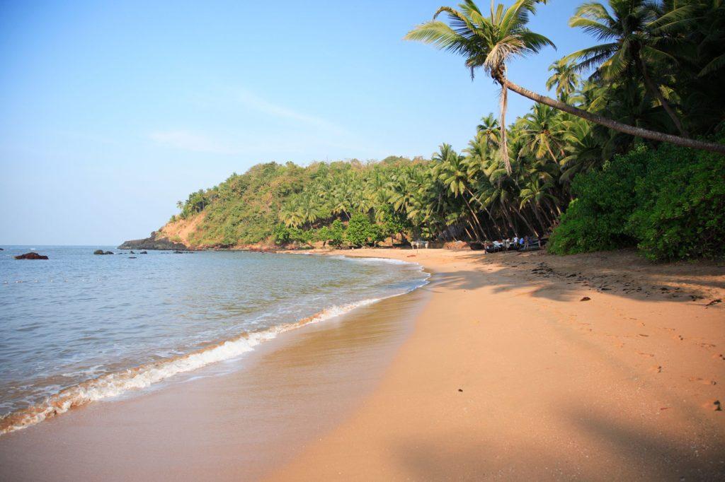 Пляж Колва в Южном Гоа