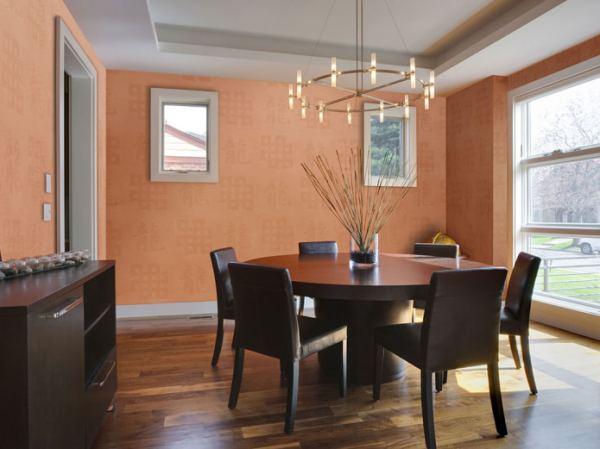 Обои для стен под покраску: современные идеи оформления ...