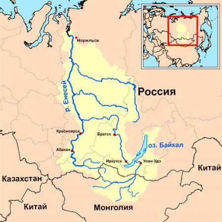 Река Енисей - это... Что такое Река Енисей?