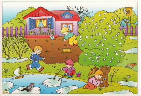 Весна: стихи, картинки, презентация для детей