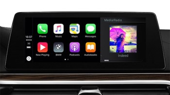 bmw apple tv