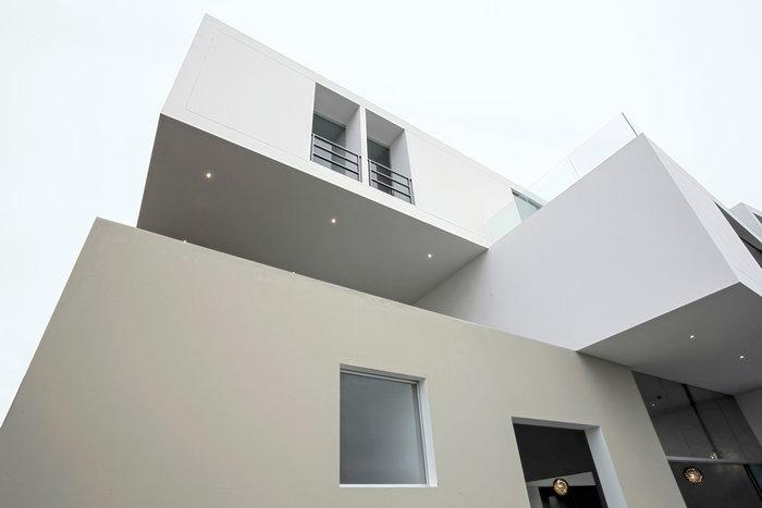 Строительство дома из бетонных блок-модулей