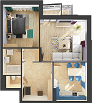 ремонт двухкомнтаной квартиры