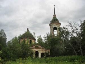 Николаевская церковь Рылеево