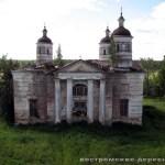 Казанская церковь с высоты колокольни
