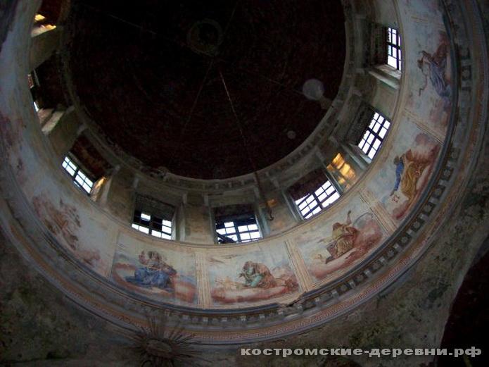 Под куполом Софийской церкви