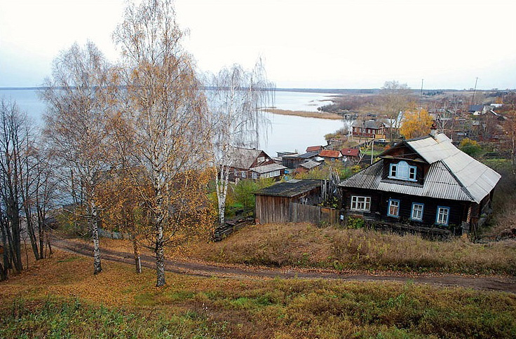 Чухлома - город у озера
