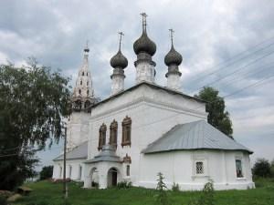 Николаевская церковь села Сидоровского