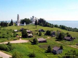 Авраамиево-Городецкий монастырь села Ножкино
