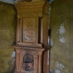 Печь в усадебном доме в Венгино.