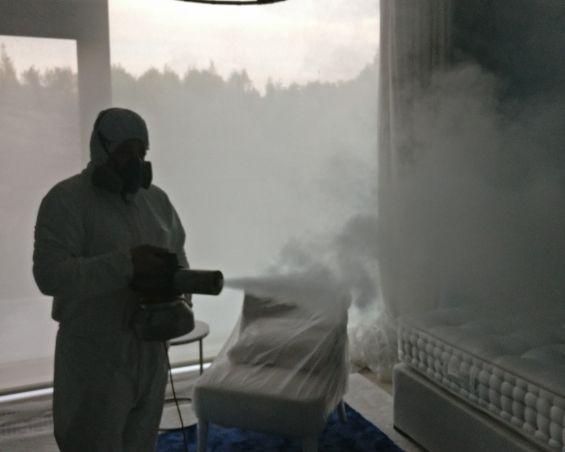 Сухой туман от запахов. Обработка сухим туманов в Москве. Цены