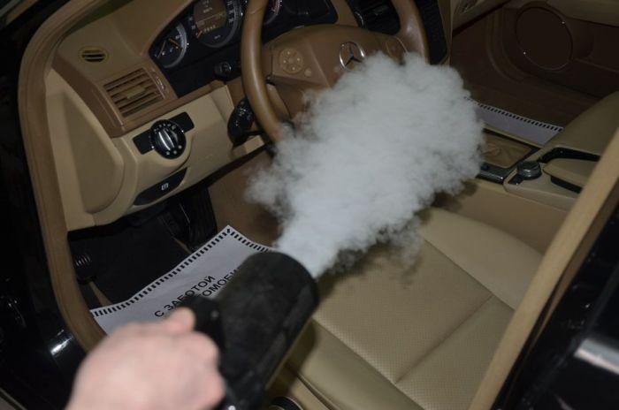 Сухой туман для авто. Цена услуги и отзывы. Москва