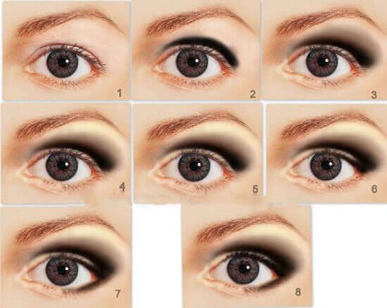 Макияж для глаз для нависшего века: Макияж глаз с нависшим ...
