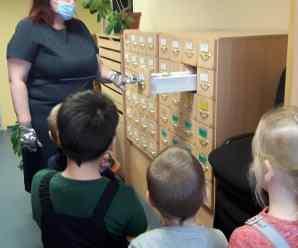 Посещение библиотеки им. Саши Петряева