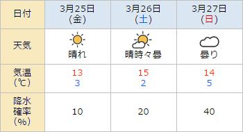 中京競馬場,天気