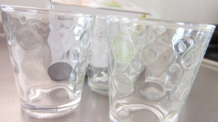 ニトリのグラス