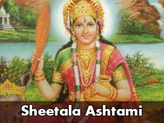 Sheetala Ashtami 2017