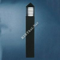 โคมไฟสนามอลูมิเนียมสีดำ