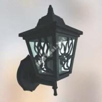 โคมไฟผนังกันน้ำ สีดำ