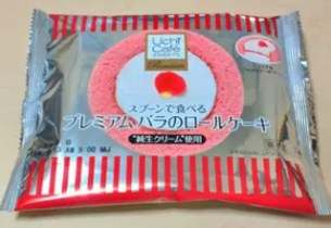 バラのロールケーキ(玫瑰蛋糕卷) – LAWSON