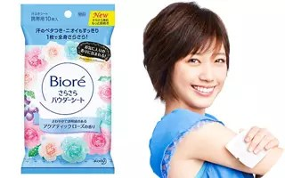 Biore-薔薇香濕紙巾