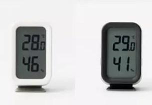 無印良品數位溫溼度計(MUJI)