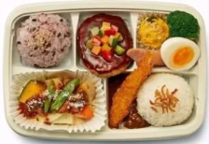 FamilyMart 漢堡肉與奶汁烤菜的拼製便當(ハンバーグと野菜グラタン仕立てのお弁当)