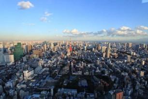 東京旅遊景點-六本木HILLS展望台 東京CITV VIEW