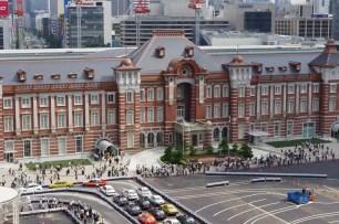 東京旅遊景點-東京車站與皇居周圍