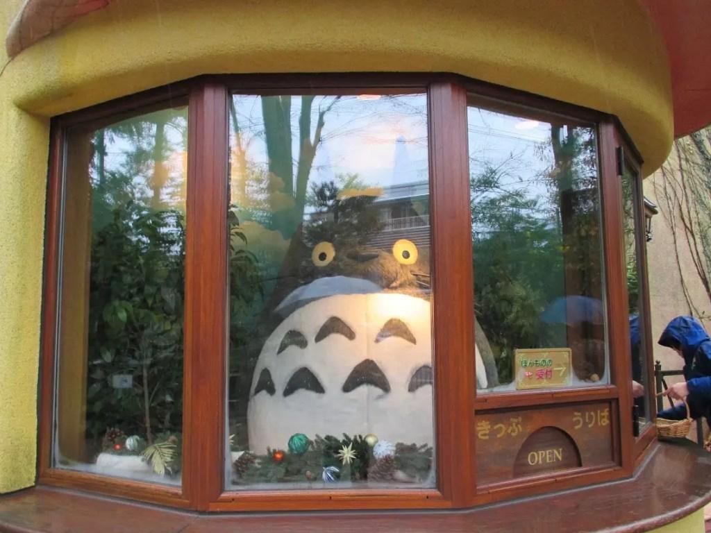 吉卜力美術館龍貓櫃台