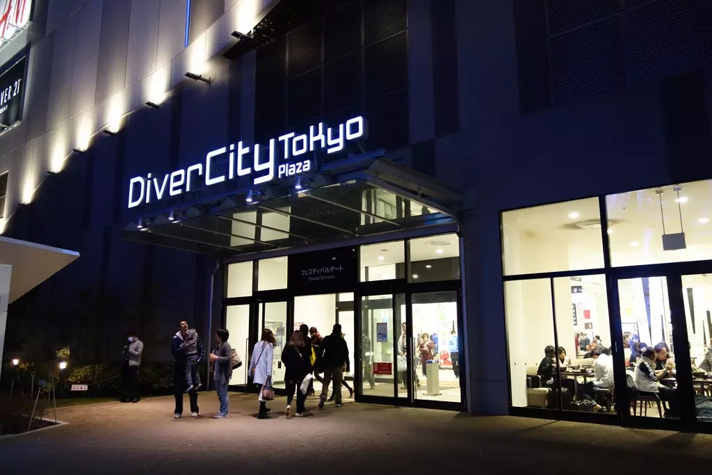 DiverCity TokyoPlaza-1
