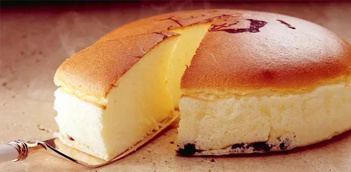 現烤起司蛋糕