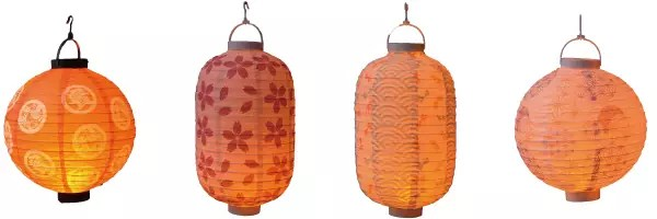 日本風情的LED提燈-2