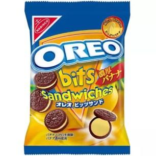 奧利奧迷你三明治餅乾 濃郁香蕉口味 每袋60公克