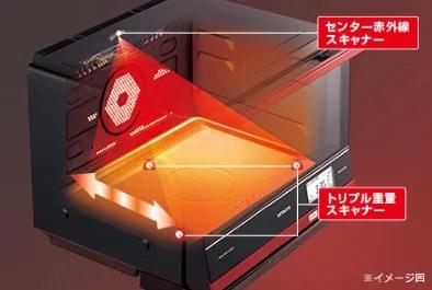 HITACHI最新型 過熱水蒸氣烘烤微波爐「健康主廚」 (2)