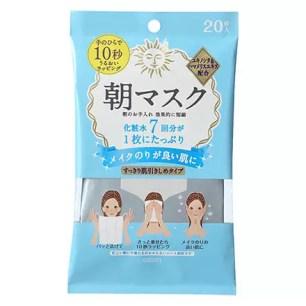 mandom 清爽型早晨臉用濕巾